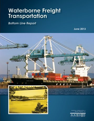 Waterborne Freight Transportation Bottom Line Report - Cambridge ...
