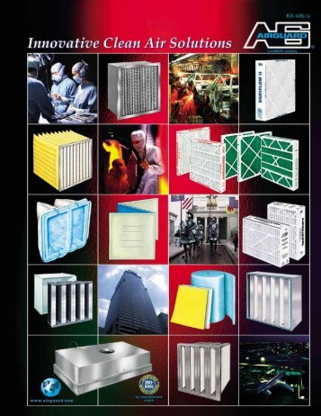 Airguard All Products Brochure - Categories