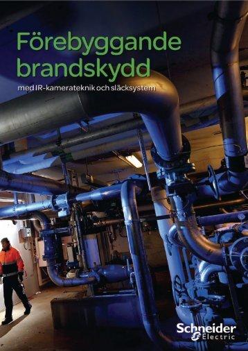 Förebyggande brandskydd (pdf, 1,9 MB) - Schneider Electric
