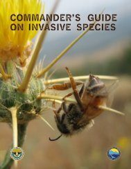Commander's Guide on Invasive Species - DoD Natural Resources ...