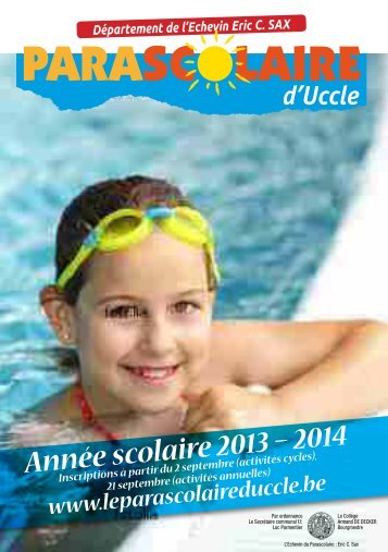 Brochure 2013 - 2014 ( PDF) - Uccle