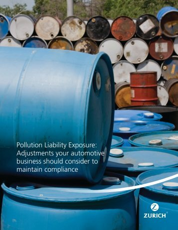 Pollution Liability Exposure: Adjustments your automotive business ...