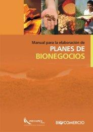 Manual para elaborar planes de Bionegocios - CDAM