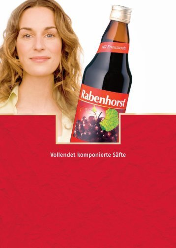De l'arbre à la bouteille, Rabenhorst ne redou - Haus Rabenhorst