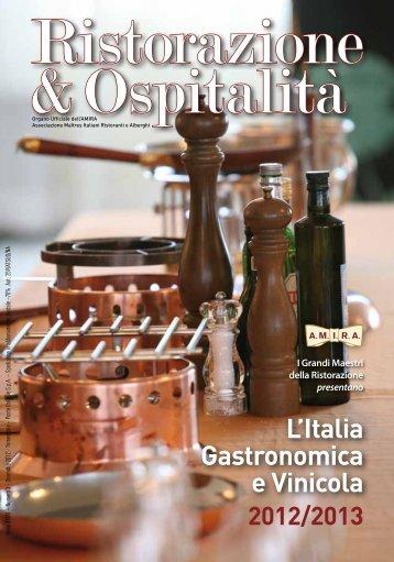 2012/2013 L'Italia Gastronomica e Vinicola - Amira