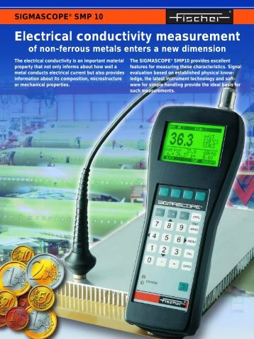 Electrical conductivity measurement - Fischer Technology, Inc.