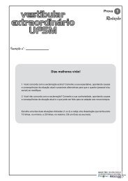 Prova 3 - Coperves - UFSM