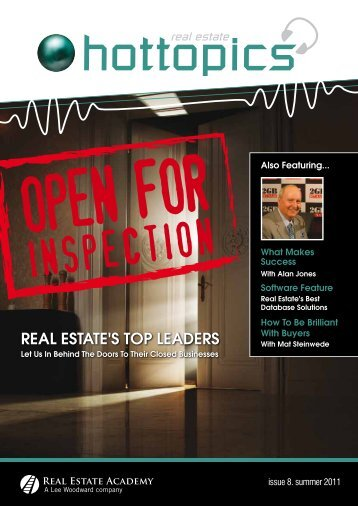 REAL ESTATE'S TOP LEADERS
