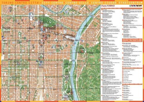 TORINO CENTRO CITTA'-CITY CENTRE-CENTRE VILLE-CENTRO ...