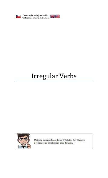 Irregular Verbs con Traduccion - NET23.NET