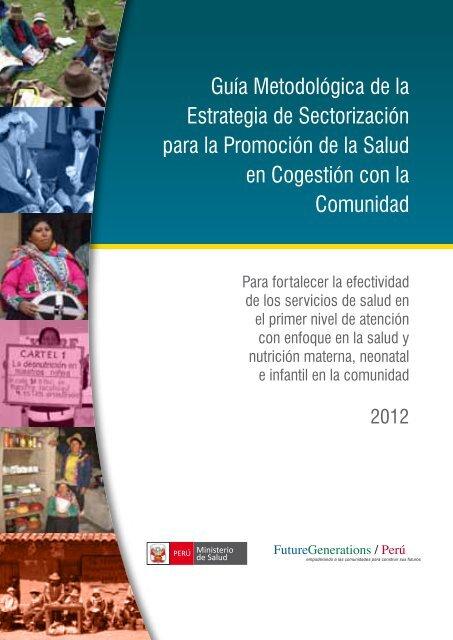 Guía Metodológica de la Estrategia de Sectorización para la ...