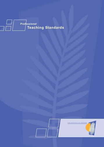 18pp PTSF book v6.indd - Professional Teachers Council NSW