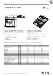 PCI pcb B011 single - Tridonic