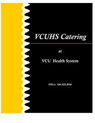 to view our Catering Menu. - Dining Services Website