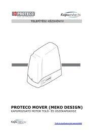 PROTECO MOVER (MEKO DESIGN)