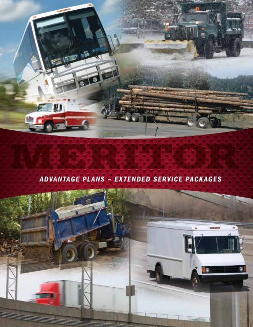 ADVANTAGE PLANS – EXTENDED SERVICE PACKAGES - Meritor