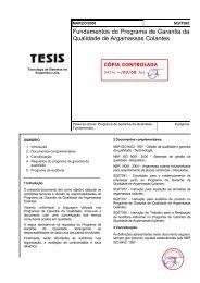 Fundamentos do Programa de Garantia da Qualidade de ...