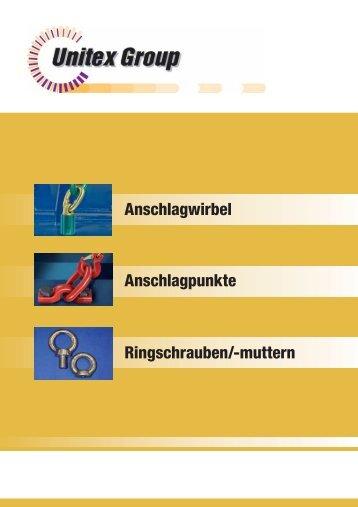 Anschlagwirbel Anschlagpunkte Ringschrauben ... - Seil-Baur GmbH