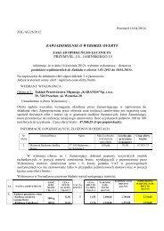 na dostawę wędlin z dnia 30-03-2012 (pdf). - Zakład Opiekuńczo ...