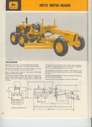 JD570 MOTORGRADER - John Deere
