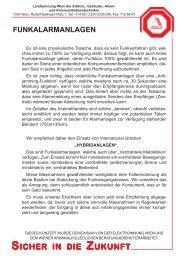 SICHER IN DIEZ UKUNFT - Landesinnung Wien der Elektro ...