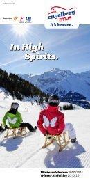 In High Spirits. In High Spirits.