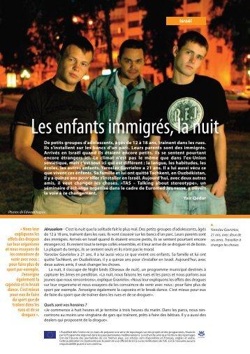 Les enfants immigrés, la nuit - EU Neighbourhood Info Centre