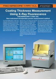 Coating Thickness Measurement Using X-Ray Fluorescence