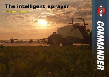 The intelligent sprayer