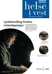 2004-04_Helseivest_web - Helse Vest