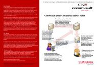 Email Compliance Starter Bundle - runIT AG