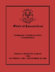 Weekly Benefits Tables for October 1, 2001 - September 30, 2002