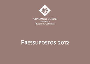 Pressupostos de l'Ajuntament de Reus