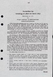 Forskrift for røranlegg av plast om bord i skip Meddelelse 1-76