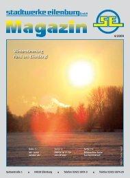 Winterstimmung rund um Eilenburg! - Stadtwerke Eilenburg