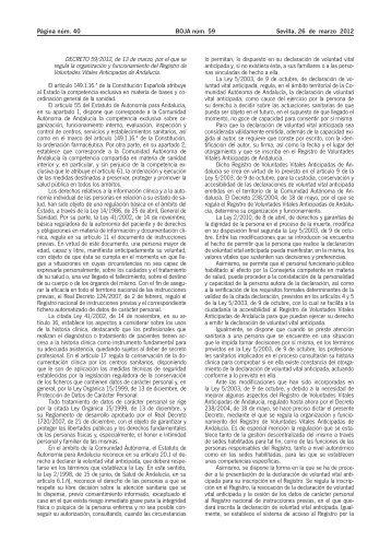 DECRETO 59/2012, de 13 de marzo - Boletín Oficial de Aragón