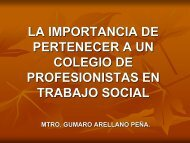 PERFIL PROFESIONAL DEL TRABAJADOR SOCIAL