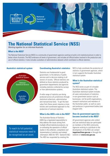 The National Statistical Service (NSS)