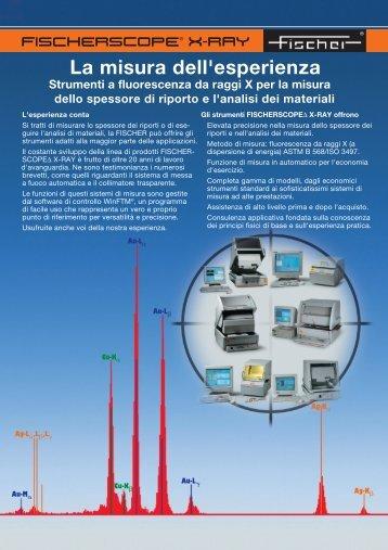 Software WinFTM® - Tabella comparativa - Fischer Technology, Inc.