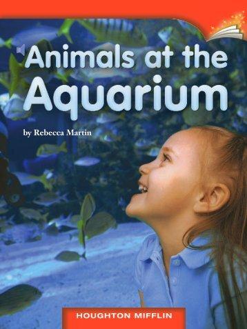 Lesson 10:Animals at the Aquarium