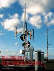 project management of wireless communication site development
