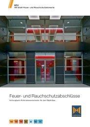 Feuer- und Rauchschutzabschlüsse - Hörmann KG