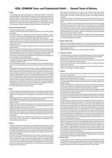PDF-File - Hein, Lehmann Trenn- und Fördertechnik GmbH