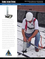 Chemical Adhesive Tieback Anchor - Flexible Lifeline Systems