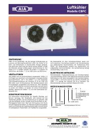 Luftkühler Modelle CBFC