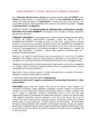 BANDO SELEZIONE DI 12 GIOVANI UNDER 29 ... - Comune di Jesi