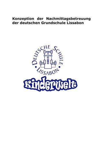 Nachmittagsbetreuung - Deutsche Schule Lissabon