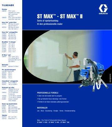 ST MAX™ II Serie af opstartsanlæg til den ... - Clemco Danmark