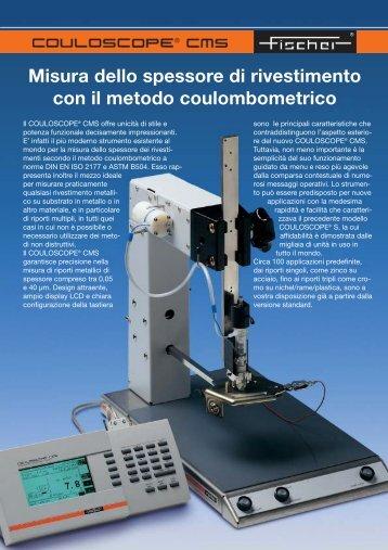 Misura dello spessore di rivestimento con il metodo coulombometrico