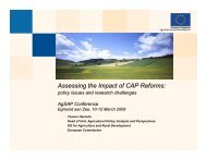 T. Haniotis - Integrated Assessment of Agriculture and Sustainable ...